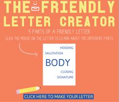 friendly letters ms mason u0027s 2nd grade raymore elementary
