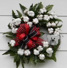 football wreath collegiate wreath grapevine wreath cotton