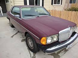 mercedes 300d coupe 1980 mercedes 300d diesel 2 door mercedes coupe for sale