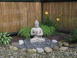 Statue For Garden Decor Best 25 Meditation Garden Ideas On Pinterest Zen Garden Design