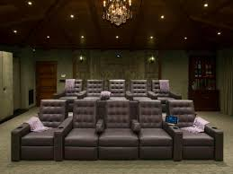 inexpensive home theater seating room new media room furniture seating decorating idea