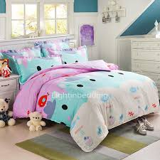 Purple And Teal Bedding Beautiful Colors Of Purple And Mint Cotton Kids Bedding Sets Ogtbd15052810385334 1 Jpg