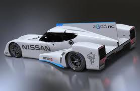 nissan race car delta wing zeod rc portends future of fuel efficient racing
