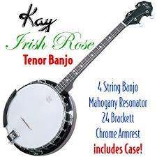 Backyard Music Banjo Amazon Com Deering Goodtime 17 Fret Tenor Banjo Musical Instruments