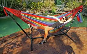 Free Standing Hammock Walmart by Outdoor Cheap Hammock Stand With Standing Hammock
