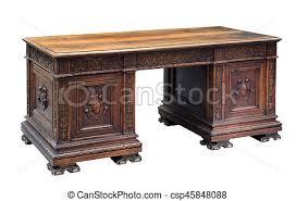 bureau acajou antiquité acajou écriture découpé bureau antiquité images