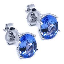 tanzanite stud earrings tanzanite earrings ebay