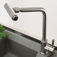 Polished Nickel Kitchen Faucets Full Rotatable Polished Nickel Professional Kitchen Faucet