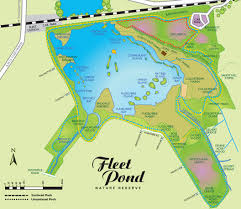 Hampshire England Map by Directions U0026 Parking At Fleet Pond
