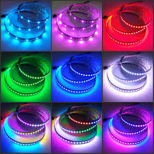 rgb led light strips ws2812b programmable led strip 144 leds rgb addressable light