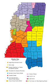 County Map Of Mississippi Mcadv