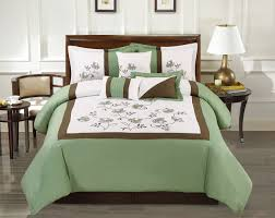 Green Comforter Sets Bedroom Cute Coral Bedspread For Nice Decorative Bedding Design