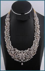 diamond long necklace images Bridal diamond long necklace pinterest jpg