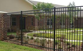 montage residential ornamental steel fence decorative metal