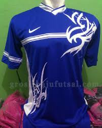 Baju Gambar Nike grosir baju futsal nike biru gn55 grosir baju futsal
