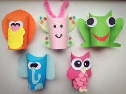 diy toilet paper roll craft lion butterfly frog elephant and