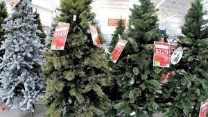 4k christmas section at walmart xmas holiday shopping trees