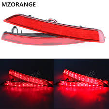 subaru forester tail light bulb mzorange 1 set red led car styling rear light tail light for subaru