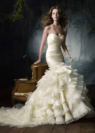 mermaid wedding dresses 2011 conceptual wedding dresses 2011 collection lazaro 1 wedding
