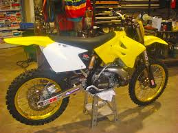 motocross bike carrier suzuki rm250 project bike builds motocross forums message