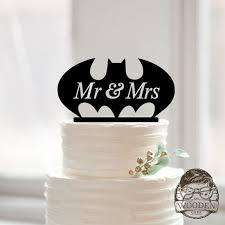 batman wedding topper bat wedding cake topper the wooden