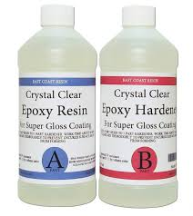 epoxy resin crystal clear 16 oz kit for super gloss coating and