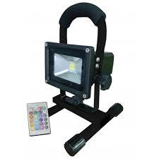 Color Changing Flood Lights Flood It Pro Rgb By Ekonomical 10w 900 Lumen Portable Rechargeable
