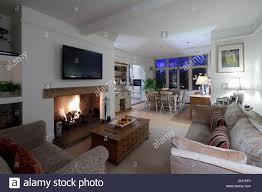 open plan living room boncville com