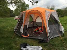 coleman cortes octagon 8 tent in hebden bridge west yorkshire