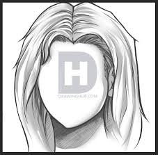 how to color and paint hair step by step by darkonator drawinghub
