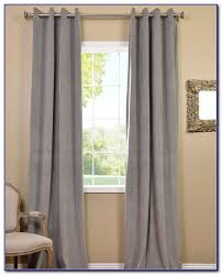 white grommet curtains blackout curtain home decorating ideas
