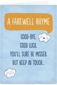 farewell card template word goodbye and good luck quotes quotesgram by quotesgram so long