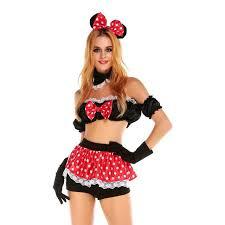 Minnie Mouse Costume Aliexpress Com Buy Minnie Mouse Costume Disfraces Adultos