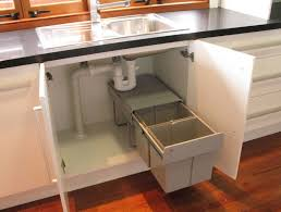 kitchen bin ideas inspiration of kitchen sink storage and 25 best sink bin