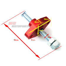 cnc red manual cam chain tensioner fit suzuki gsxr 600 97 98 99 00
