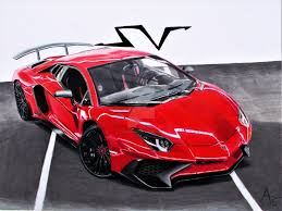 lamborghini drawing aventador sv drawing by cardesigner123 on deviantart