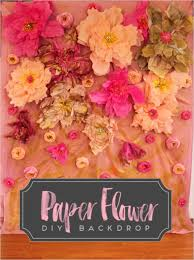 wedding backdrop font picture of colorful diy paper flower backdrop for your wedding