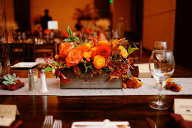 autumn wedding table centerpieces wedding party decoration