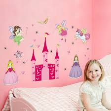 removable sweet fairy castle wall stickers decal bedroom diy removable sweet fairy castle wall stickers decal bedroom diy