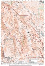 Map Of Death Valley Death Valley Nat U0027l Park U2013 Tom Harrison Maps