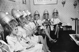 old fashinoned hairdressers and there salon potos vintage life salons pinterest salons