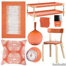 Orange Accessories Papaya Color Accessories Orange Home Decor