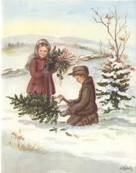 tudor vintage card tudor illustrations