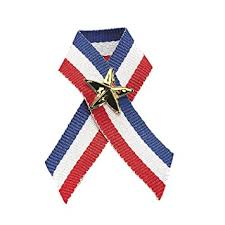 patriotic ribbon patriotic ribbon with pins 12 pack 4 ribbon 3
