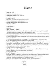 cover letter for cabin crew flight attendant resume samples