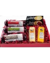 Cheese And Cracker Gift Baskets Spectacular Deal On Wisconsin U0027s Best Cheese U0026 Sausage Tailgating