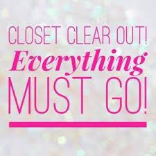 everything must go sale everything has got to goooooooooo