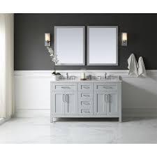 Ove Decors Bathroom Vanities Ove Decors Ove Tahoe 60 In W X 21 In D Vanity In Dove Grey With