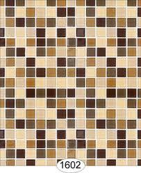 wallpaper mosaic tile brown and light brown wal1602 0 00