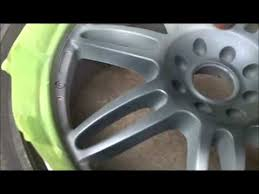 how to paint rims with professional results youtube